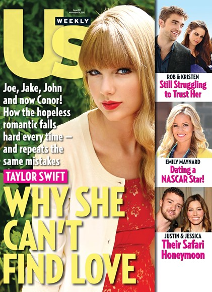 Us Weekly Cover - 11/19/2012