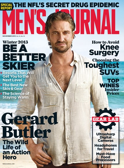 Men's Journal Cover - 11/1/2012