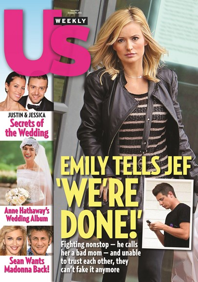 Us Weekly Cover - 10/29/2012