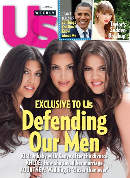 Us Weekly Cover - 11/12/2012