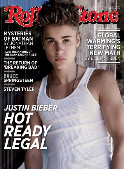 Rolling Stone Cover - 8/2/2012