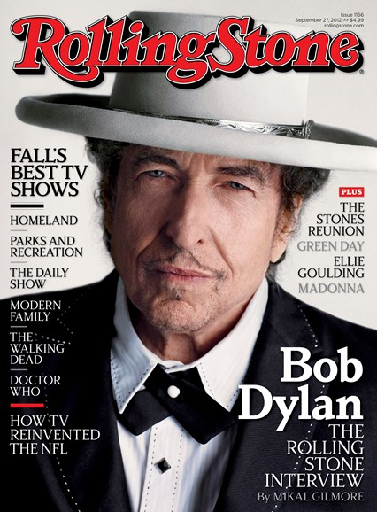 Rolling Stone Cover - 9/27/2012