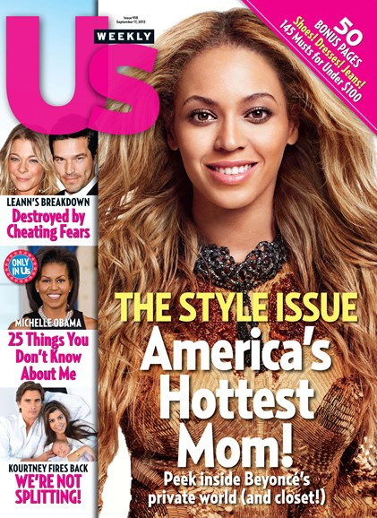 Us Weekly Cover - 9/17/2012