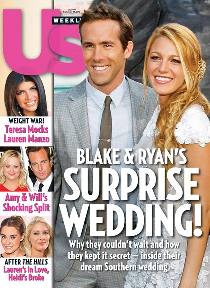 Us Weekly Cover - 9/24/2012
