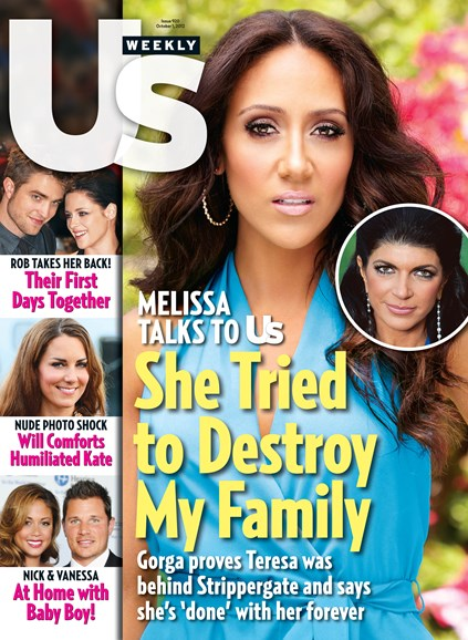 Us Weekly Cover - 10/1/2012