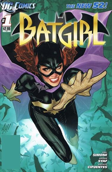 Batgirl Cover - 11/1/2011