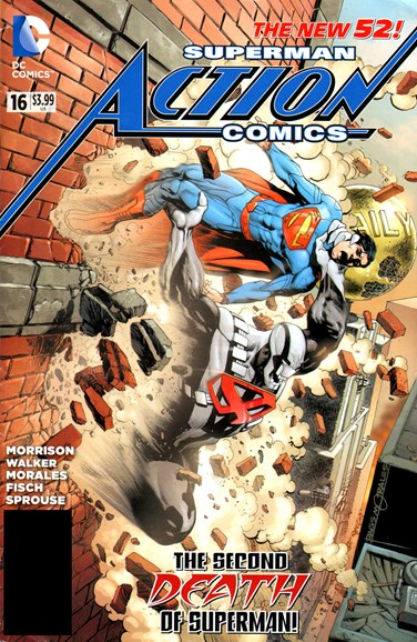 Action Comics Cover - 3/1/2013