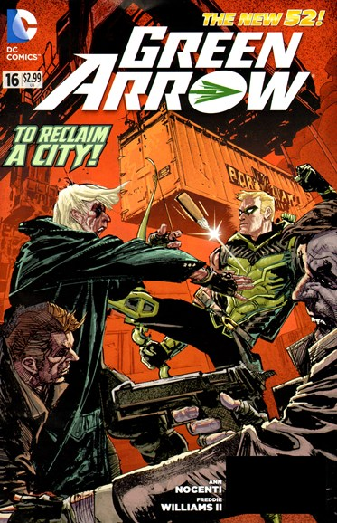 Green Arrow Cover - 3/1/2013