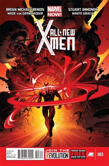 X-Men Blue Cover - 2/1/2013
