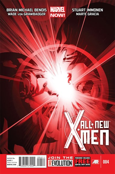 X-Men Blue Cover - 2/15/2013