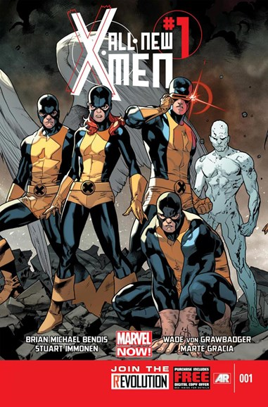 X-Men Blue Cover - 1/1/2013