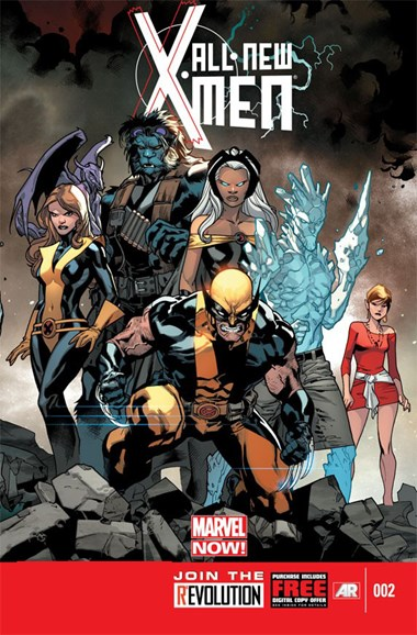 X-Men Blue Cover - 1/15/2013