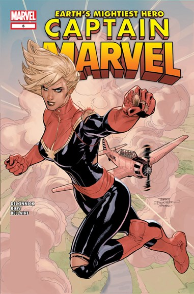 Captain Marvel Cover - 12/1/2012