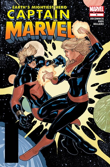 Captain Marvel Cover - 12/15/2012