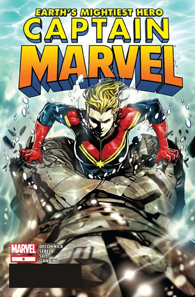 Captain Marvel Cover - 2/1/2013