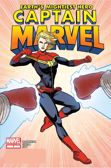 Captain Marvel Cover - 1/1/2013