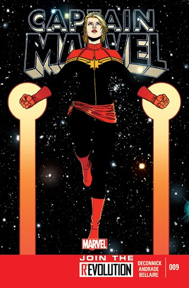Captain Marvel Cover - 3/1/2013