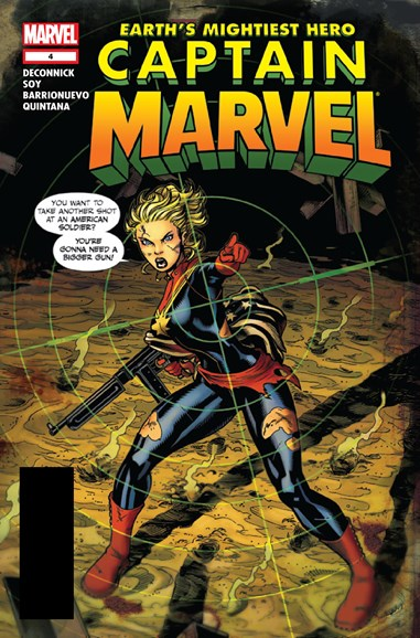 Captain Marvel Cover - 11/1/2012