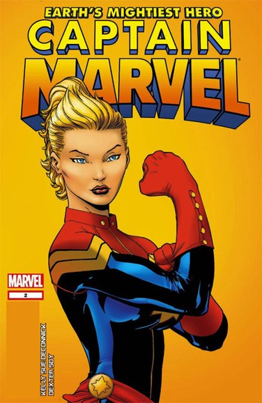 Captain Marvel Cover - 10/1/2012