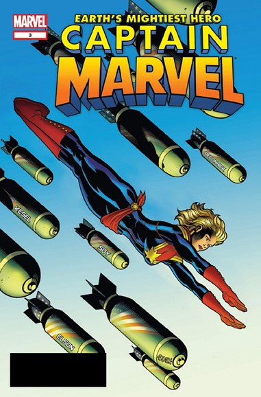 Captain Marvel Cover - 10/15/2012