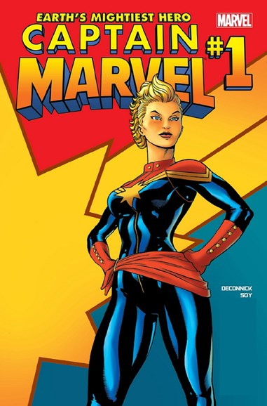 Captain Marvel Cover - 9/1/2012