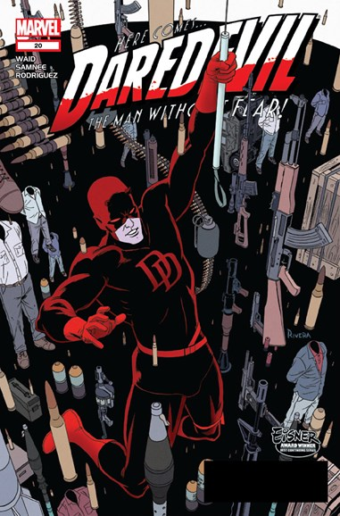 Daredevil Cover - 1/1/2013