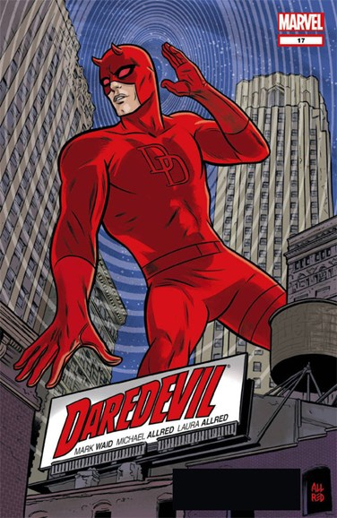 Daredevil Cover - 10/15/2012