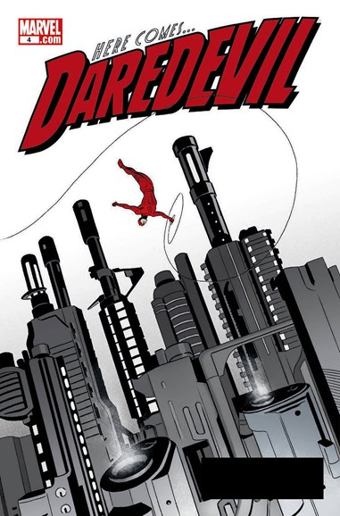 Daredevil Cover - 11/15/2011