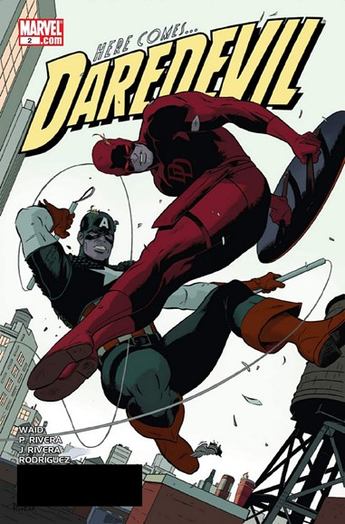 Daredevil Cover - 10/1/2011