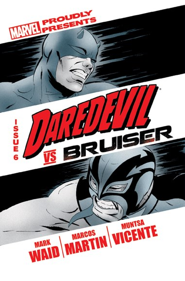 Daredevil Cover - 1/1/2012