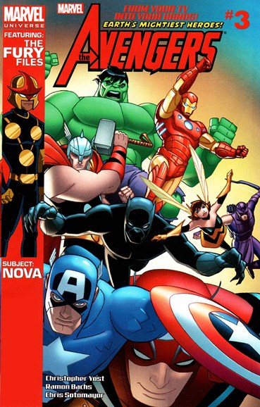 Marvel Universe Avengers Earth's Mightiest Heroes Cover - 8/1/2012