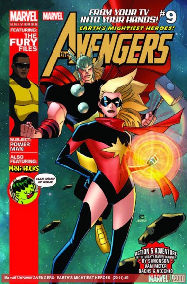 Marvel Universe Avengers Earth's Mightiest Heroes Cover - 2/1/2013