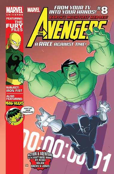Marvel Universe Avengers Earth's Mightiest Heroes Cover - 1/1/2013