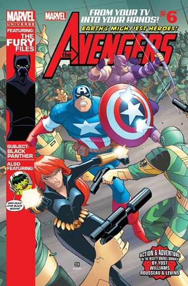 Marvel Universe Avengers Earth's Mightiest Heroes Cover - 11/1/2012