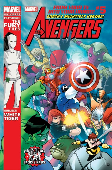 Marvel Universe Avengers Earth's Mightiest Heroes Cover - 10/1/2012