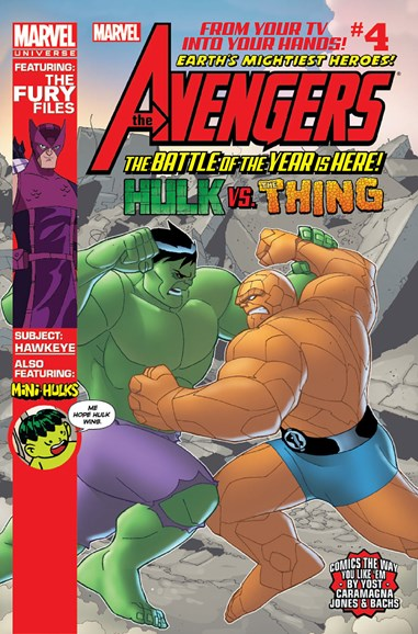Marvel Universe Avengers Earth's Mightiest Heroes Cover - 9/1/2012