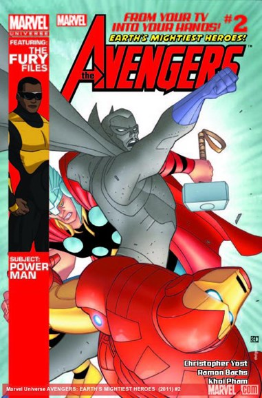 Marvel Universe Avengers Earth's Mightiest Heroes Cover - 7/1/2012