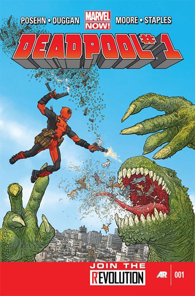 Deadpool Cover - 1/1/2013