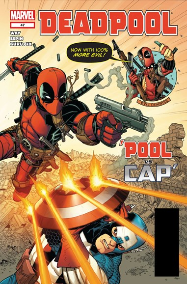 Deadpool Cover - 2/1/2012