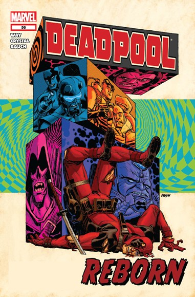 Deadpool Cover - 8/1/2012