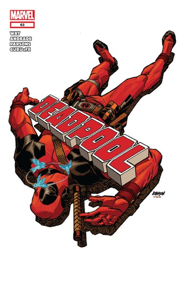 Deadpool Cover - 12/15/2012
