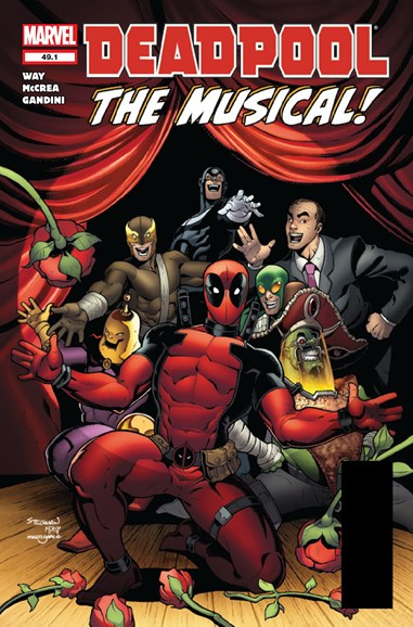 Deadpool Cover - 3/15/2012
