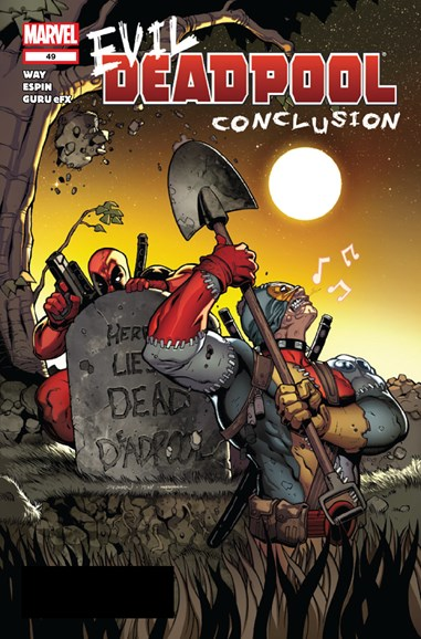 Deadpool Cover - 3/1/2012