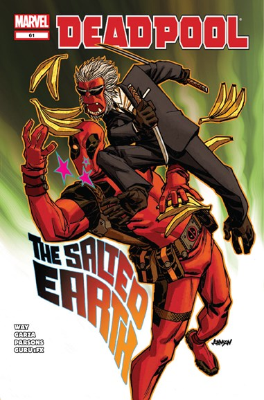 Deadpool Cover - 11/15/2012