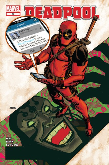 Deadpool Cover - 11/1/2012