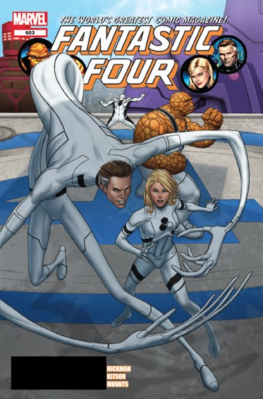 Fantastic Four Cover - 4/1/2012