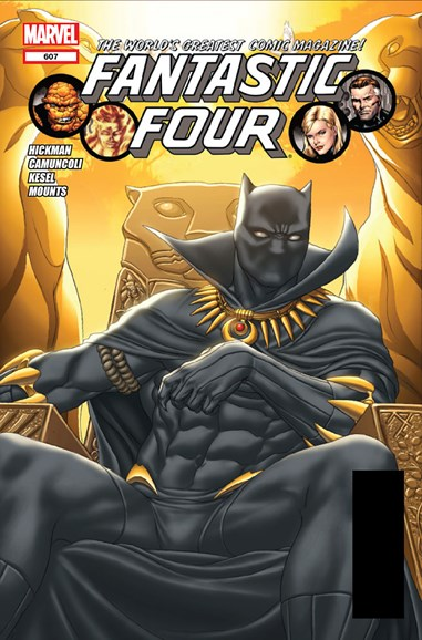 Fantastic Four Cover - 8/1/2012