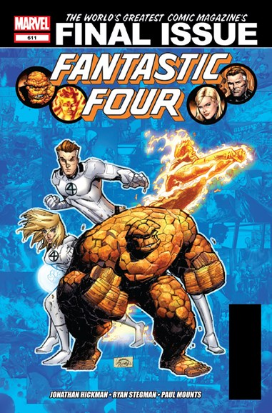 Fantastic Four Cover - 12/1/2012