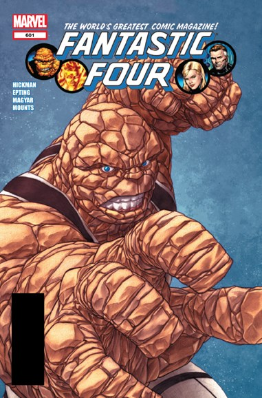 Fantastic Four Cover - 2/1/2012