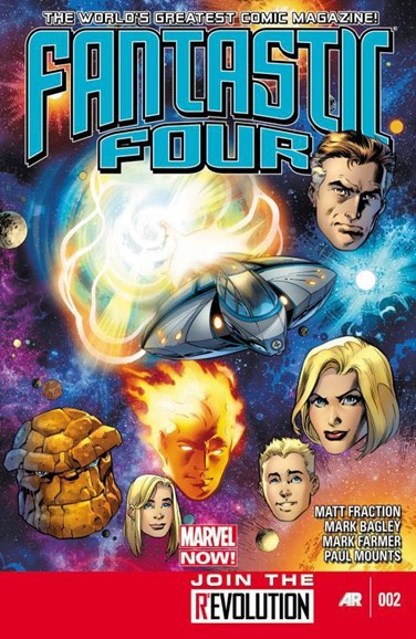 Fantastic Four Cover - 2/1/2013